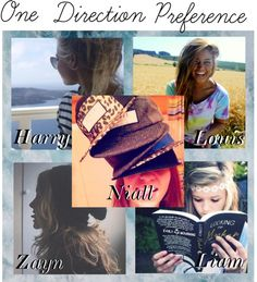 """""""One Direction Preference ;; He tweets a picture of you."""" by calm-it-curly ❤ liked on Polyvore"""