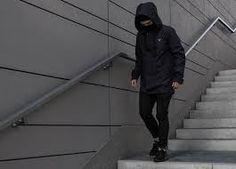 all black, nike  air huarache