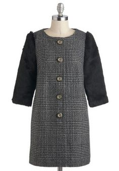 Turin Time Coat, #ModCloth