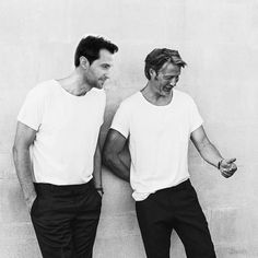 Richard Armitage and Mads Mikkelson - Hannibal