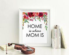 Wall Art Gift For Mom Digital Print Gift For Mom Poster Art Gift For Mom Wall Art Print Gift For Mom  Wall Decor Gift For Mom Birthday Gift - Digital Download #homedecorations #wallprints #giftforhim #giftforher