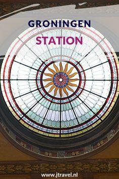 In 2019 is het Station van Groningen uitgeroepen tot het mooiste station van Nederland. Meer informatie over dit hoofdstation lees je in dit artikel. Lees je mee? #groningen #stationgroningen #jtravel #jtravelblog