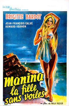 Manina, la fille sans voiles, 1952