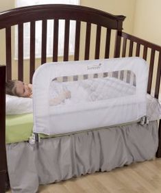 The 2 in 1 Convertible Crib Rail to Bedrail is an essential item when transitioning your child from the crib to toddler bed and toddler bed to adult size bed. Funky Furniture, Cheap Furniture, Discount Furniture, Rustic Furniture, Furniture Ideas, Bathroom Furniture, Best Baby Cribs, Folding Walls, Crib Rail