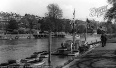 Richmond, The River Thames from Francis Frith Vintage London, River Thames, Places To Go, England, History, Historia, British, United Kingdom