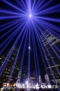 2003 Memorial Lights ~ Twin Towers ~ New York City