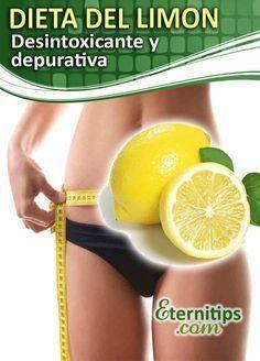 Dieta del limon: desintoxicante y depurativa para bajar de peso y adelgazar