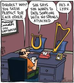 48 New ideas for music humor funny jokes puns Political Cartoons, Funny Cartoons, Funny Jokes, Hilarious, Silly Jokes, Music Jokes, Music Humor, Funny Music, Orchestra Humor