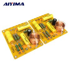 US $18.20 Aiyima 2pcs Updated New Multi Speaker 3 Unit Audio Frequency Divider 3 Way Crossover Filters. Aliexpress product