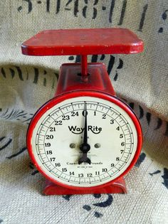 For people who weigh their portions (Weight Watchers etc.) why not have something fun in your kitchen, something beautiful and vintage.Biddy Craft