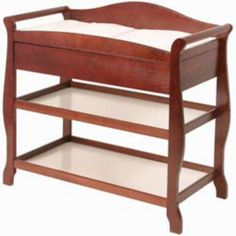 Storkcraft Aspen Changing Table with Drawer Cherry