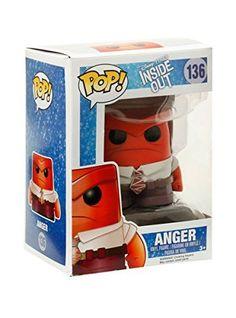 Funko Disney Pop! Inside Out Anger Vinyl Figure