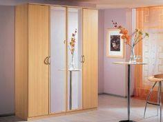 Cheap Italian Bedroom, Living & Dining Room Furniture Set at Furniture Direct UK Single Door Wardrobe, Wardrobe Closet, Exterior Design, Interior And Exterior, Dining Room Furniture Sets, Furniture Direct, Corner Unit, Door Hinges, Single Doors