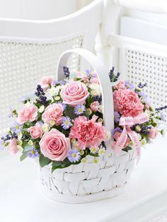 Mother's Day Basket My Interflora Mum #myinterfloramum #myinterfloramum all the things she loves