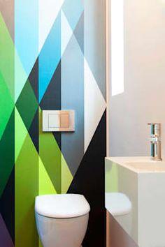Projekty, Łazienka zaprojektowane przez Bachmann Badie Architekten