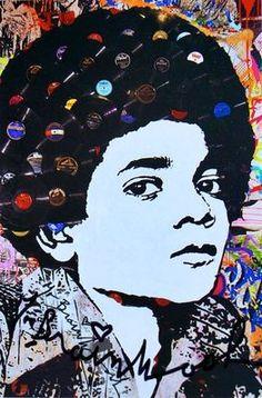 Michael Jackson Record Hair