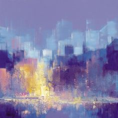 """Manhattan II"" by Claudio Lami. Love the colors!"