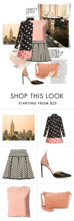 """""""A Promise of Spring"""" by youaresofashion ❤ liked on Polyvore featuring Chiara Ferragni, RED Valentino, DKNY, Francesco Russo, Cacharel, See by Chloé, women's clothing, women, female and woman"""