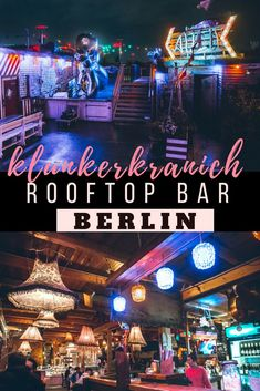 Klunkerkranich is one of the most popular Rooftop Bars in Berlin. It's located on top of a Shopping Mall in Neukolln. Read all about Klunkerkranich, how to get there, and what to expect