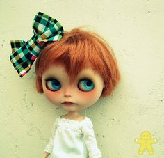 Jengibre, the cutest Blythe ever!! She belongs to Camilla and was customised by hola gominola.