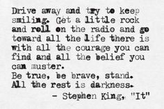 Stephen King is arguably the most prolific author of the last century. He was born in Portland, Maine in the second son of Donald and Nellie Ruth Pills. Steven King Quotes, Stephen King Books, Sparks Joy, Literary Quotes, Classic Literature, Truth Hurts, Beautiful Mind, Spiritual Growth, Infj