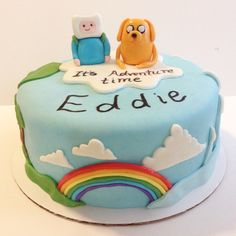 It's adventure time! Cake  by @ruthysbakeshop