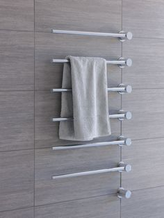 Towel warmer – electric built-in modular heated towel rail for individual design soluti. Heated Towel Bar, Towel Heater, Modern Room, Modern Bathroom, Marble Bathrooms, Modern Shower, Bathroom Mirrors, Bathroom Curtains, Bathroom Fixtures