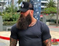 Viking Beard Tips and Styles (Part 2 of Like the hairstyle, the Viking beard styles have become a great distinction of the Vikings. In the last writing (Viking Beard Tips and Styles Part BaviPower has shared some tips… Continue Reading → Viking Beard Styles, Beard Styles For Men, Hair And Beard Styles, Epic Beard, Sexy Beard, Great Beards, Awesome Beards, Hairy Men, Bearded Men