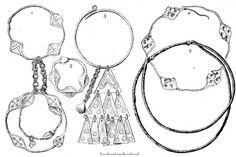 Slavic temple rings.