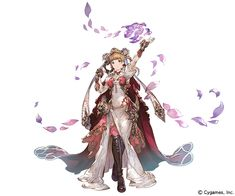 View an image titled 'Juliet Art' in our Granblue Fantasy art gallery featuring official character designs, concept art, and promo pictures. Female Character Design, Character Design References, Character Design Inspiration, Character Concept, Character Art, Concept Art, Anime Fantasy, Fantasy Art, Fantasy Characters
