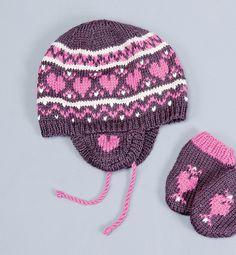 Modèle bonnet jacquard bébé - Modèles Layette - Phildar