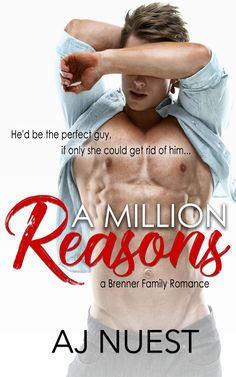 A Million Reasons (Romantic Comedy Novel): A Brenner Family Romance - Book 1 (Billionaire Romance Trilogy) Free Books, Good Books, My Books, Romance Authors, Romance Books, A Million Reasons, Book Boyfriends, New Names, Book 1