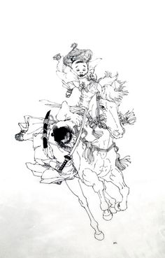 FRANK MILLER LONE WOLF AND CUB COVER Comic Art