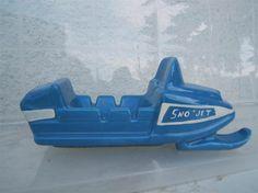 Snowmobile Ashtray (1950) by Céramique de Beauce - Unknown