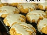 Soft Iced Pumpkin Cookies (Delicious, soft, yummy cookie and boy does the topping makes it. My fav pumpkin cookie right here!)
