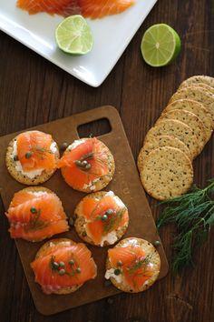 Swedish Gravlax (cured salmon) Recipe   http://www.theroastedroot.net