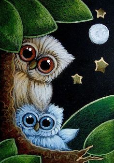 Google Image Result for http://www.ebsqart.com/Art/Gallery/Media-Style/721783/650/650/TINY-GIRLY-OWL-WITH-NEW-BLUE-OWL-DOLL.jpg