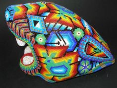 For more images of Huichol Beaded Sculptures visit Mexican Art Dealing