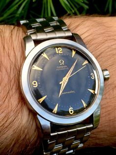 Vintage OMEGA Seamaster Automatic In Stainless Steel Circa 1950s - https://omegaforums.net