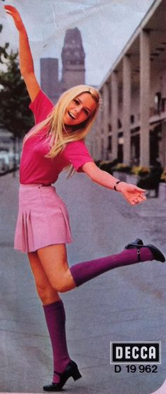 """""""France Gall"""" #europeanfashion #60s Posted by #albpinczo WE #WesternUniverse"""