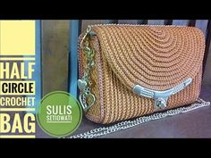 Crochet || party crochet bag || oval shape - YouTube