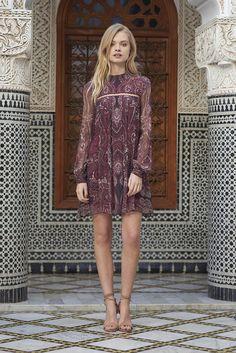 Labyrinth Paisley Mini Dress