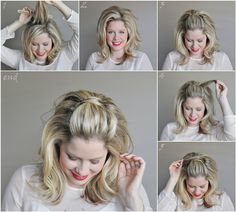Never thought to do this instead of having bobby pins show!