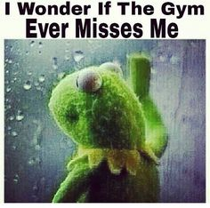 It sure did !! 4 days off from the gym was heart breaking .. Workout and cardio complete I hope you get your workout, don't skip a Monday ;)