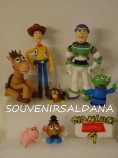 toy story and friends