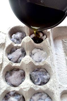 16 idées qui tiennent du génie pour recycler les boîtes d'oeufs noté 3.5 - 4 votes Les oeufs sont un élément de base de notre alimentation. Ils se retrouvent tant en entrée, qu'en repas ou en dessert et surtout dans les pâtisseries diverses et variées qui enchantent nos papilles. Mais une fois qu'on les a...