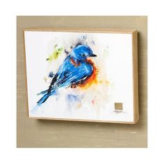 Artist Dean Crouser portrays nature's beautiful birds in life-like, energetic form through his vibrant and intricate watercolor paintings. It features a solid ash wood frame and a brass artist medalli Canvas Frame, Canvas Wall Art, Canvas Prints, Watercolor Design, Watercolor Paintings, Watercolour, Bird Wall Art, Wild Birds, Beautiful Birds