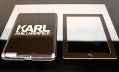 iCan't resist a Karl Lagerfeld iPad cover, can you?