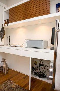 fios escondidos no home office