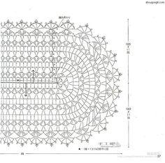 Trançado rendas Toalha artesanal bar diagrama 2 Partilha de www.shougong8.com